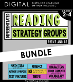 Reading Strategy Groups: MEGA BUNDLE (with DISTANCE LEARNI