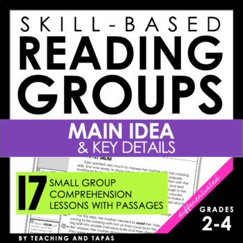 Reading Strategy Groups: Main Idea