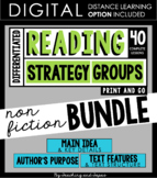 Reading Strategy Groups: Non-Fiction BUNDLE