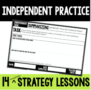 Reading Strategy Groups: Summarizing