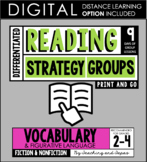 Reading Strategy Groups: Vocabulary and Context Clues