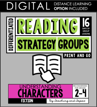 Reading Strategy Groups: Understanding Characters