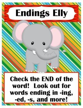 Animal Reading Strategy Buddies