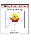 Reading Strategy:  I can read and talk about informational text