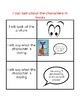 Reading Strategy:  I can talk about characters