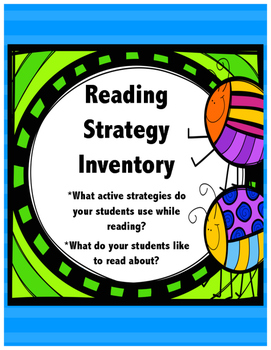 Reading Strategy Inventory