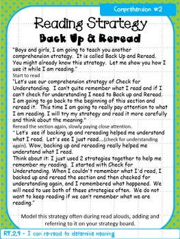Reading Strategy Lessons 2nd Grade