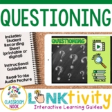 Reading Strategy Link & Think:  Asking Questions (Google C