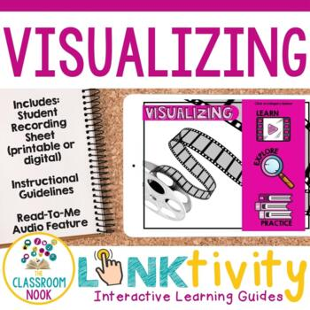 Reading Strategy Link & Think:  Visualizing (Google Classroom Compatible)