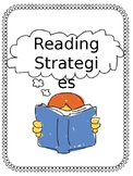Reading Strategy Menu