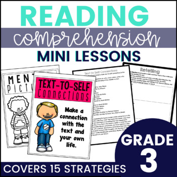 Reading Strategy Mini Lessons {3rd Grade}
