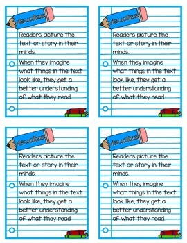 Reading Strategy Notebook {A Booklet Defining the 6 Comprehension Strategies}
