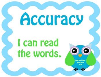 Reading Strategy Owl Theme
