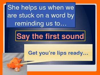 Reading Strategy PPT - Lips the Fish