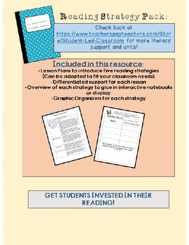 Reading Strategy Bundle with Lesson Plans