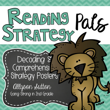 Reading Strategy Pals:Decoding & Comprehension Strategy BUNDLE