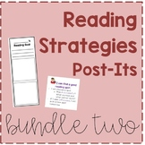 Reading Strategy Post-Its Bundle 2