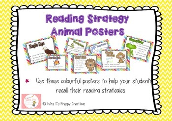 Reading Strategy Poster