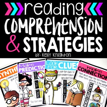 Reading Comprehension {Worksheets & Posters For the Common Core Classroom}