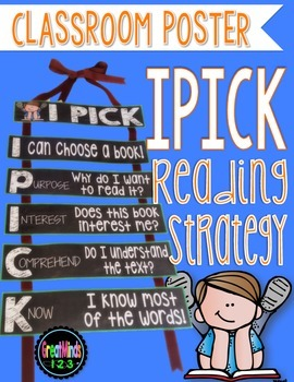Reading Strategy Poster {FREEBIE}