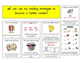 Reading Strategy Poster for reading folders- K to 1st