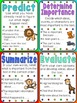 Reading Strategies and Skills - 3 Poster Styles