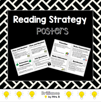 Reading Strategy Posters