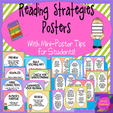 Reading Strategy Posters*8 Comprehension Strategies*1 Post