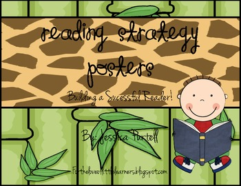 Reading Strategy Posters: Building a Successful Reader! (Jungle Theme)