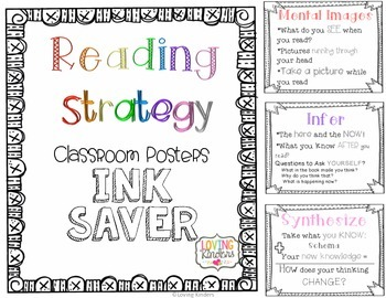 Reading Strategy Posters~ FREEBIE