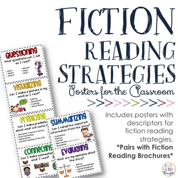 Reading Strategy Posters {Fiction}