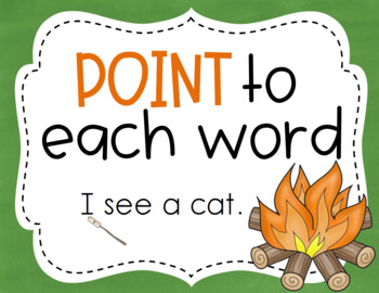 Reading Strategy Posters {Primary} CampingTheme