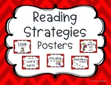 Reading Strategy Posters Red