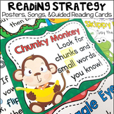 Reading Strategy Posters, Songs and Guided Reading Cards