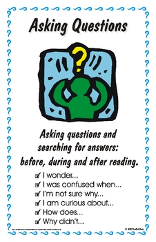 Reading Strategy Posters - Tabloid Size (11 x 17)