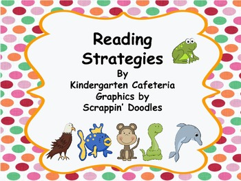 Reading Strategy Posters and Bookmarks