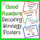 Reading Strategy Posters and Checklists Bundle