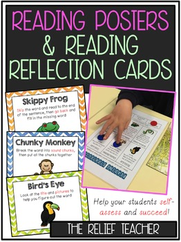 Reading Strategy Posters and Reflection Cards