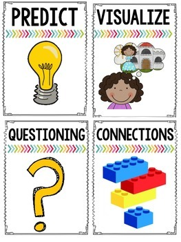 Reading Strategy Posters {for BIG kids}