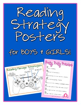 Reading Strategy Posters for Comprehension Passages {Free Download}