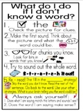 Reading Strategy Posters (large and small) and student bookmarks!