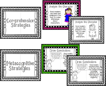 Reading Strategy Posters that can accompany the Benchmark Literacy Series