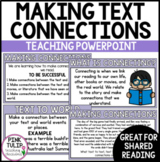 Reading Strategy PowerPoint - Making Text Connections