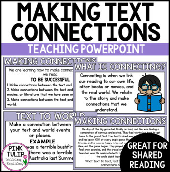 Reading Strategy PowerPoint- Making Text Connections