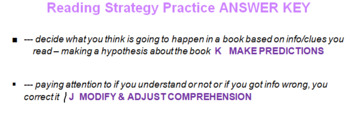 Reading Strategy Practice