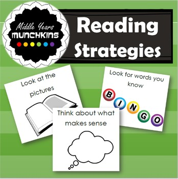 Reading Strategy Printables!
