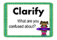 Reading Strategy Printables