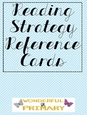 Reading Strategy Reference Cards