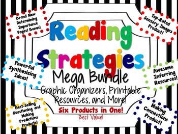 Reading Strategy Resources Mega Bundle