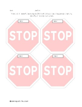 Reading Strategy: Stop & Jot